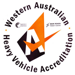 western australian heavy vehicle accreditation logo